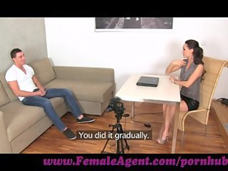 femaleagent. youthful stud desperate for work