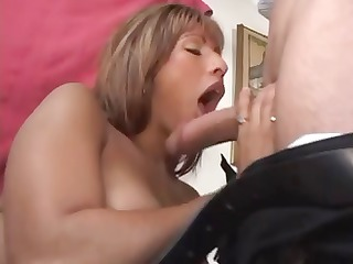 hot latin chick mother i licks a sweetmeat cock