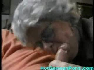 german grandmother catches her chap masturbating