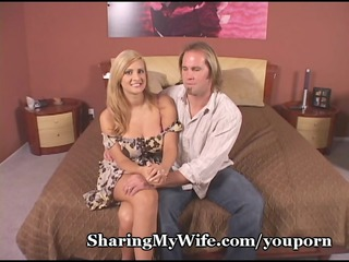 cuckold hubby watches hotwife receive drilled