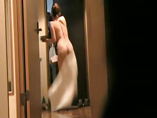 japanese wife flashing delivery guy 8