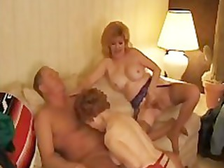 kitty foxx threeway with a mature aged mature