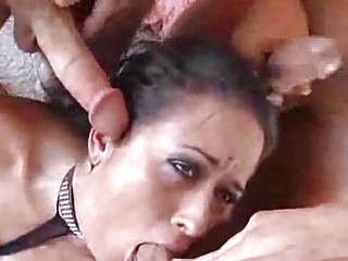 massively busty mother i whores gobble up twice