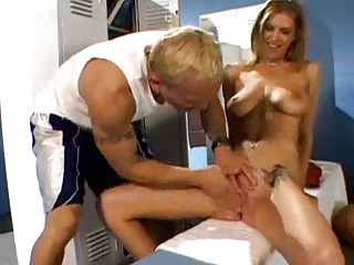 locker room busty mother i doxy receives boned
