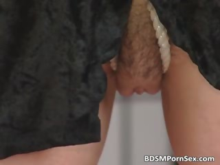 d like to fuck in stocking receives tied and