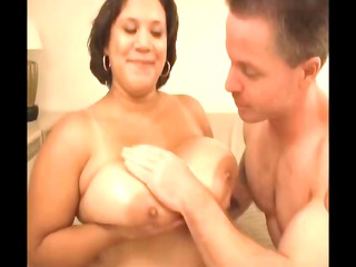 really breasty monet staxxx titty fucks and then