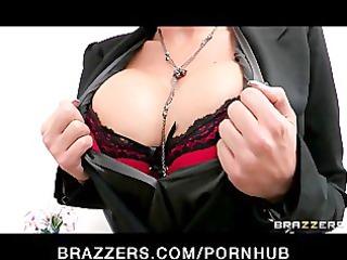 breasty brunette college dean phoenix marie takes