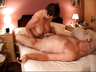 granny tugjob massage