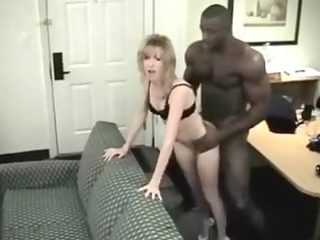 miniature blond wife t live without her brawny
