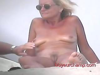 voyeurchamp- exposed beach voyeur# 60 matures