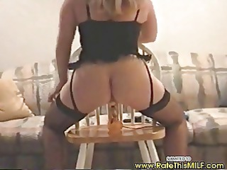 amateur mother i in sexy lingerie going up and