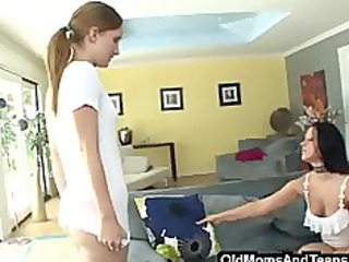 lesbo milf and stepdaughter