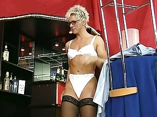 german milf strips