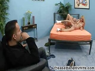 breasty milf moans in pleasure