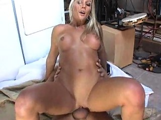 slutty blond d like to fuck acquires three-some