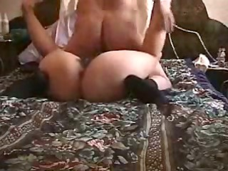 plump curly milfs chest sat on