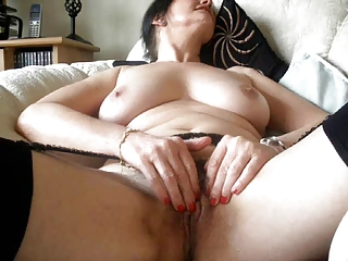 sexually excited older masturbates