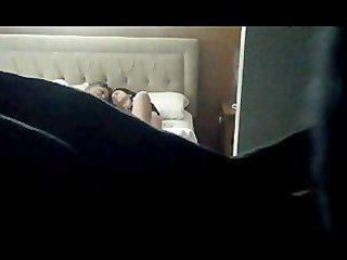 hidden cam, missionary creampie in wife