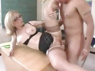 d like to fuck teacher in glasses gets a