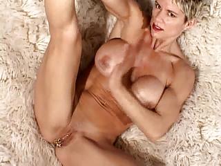 breasty milf with 89 cum-hole piercings