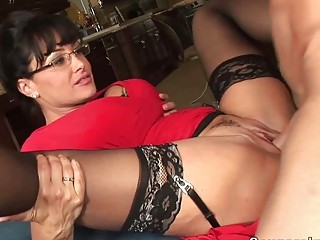 classy large titted milf hoe receives her fanny