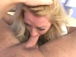 y.o. golden-haired mature lady hot sex (pov)