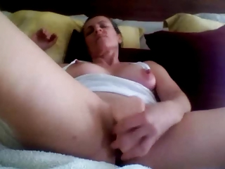 sexy a-hole mature private dildo fucking