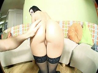 sexy dark brown milf nailed in hawt black
