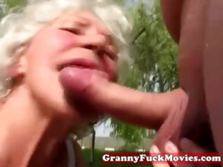 dirty grandma sucking