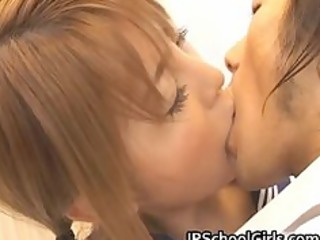 cute japanese school girl momo acquires part0