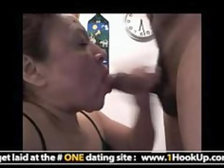 latin aged hookup receives her mouth drilled
