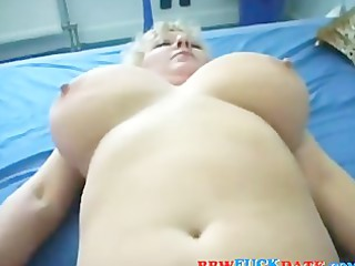 chubby aged madam hungry form some recent pecker