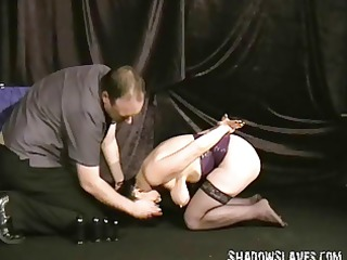 buttplugged aged wife slaves humiliation and
