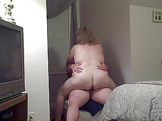 my big beautiful woman wife fucking me on a
