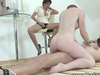 lucky slave acquires drilled by one of his