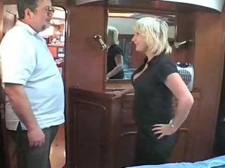 mature british blonde fucking om a boat