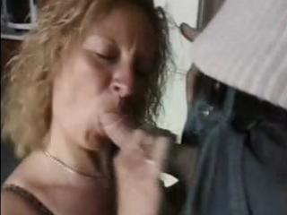 nasty mature golden-haired housewife receives