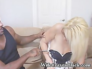 hubby wants black cum in hawt wife