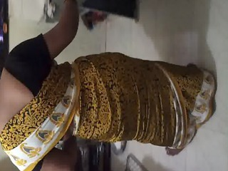 fuck my wife jyoti in satin saree