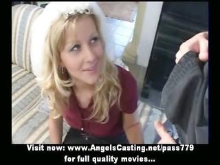 dilettante pleasant blonde bride precious talking