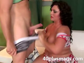 charming chubby latin chick mother i