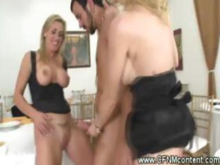 clothed milfs begin a reversed bang