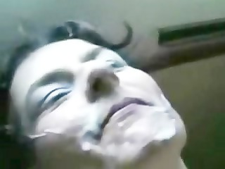 bukkakee with a lot of cum