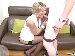 soisic a french mature fucked in a three-some