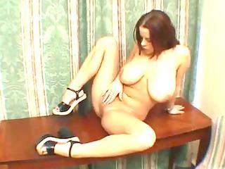 juvenile wife rubs herself to big o