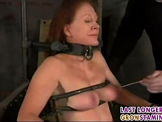 aged redhead forced part1