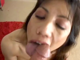 asian aged receives fucked and cumed on a-hole