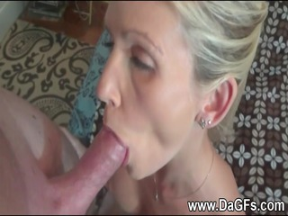 wife has a mouthfull