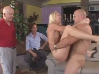charming golden-haired wife screwed and had a