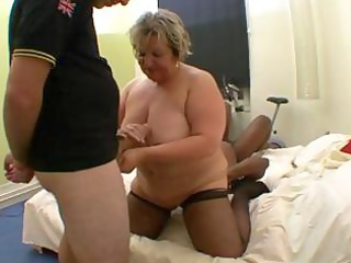 naughty french fat mature, carole, receives